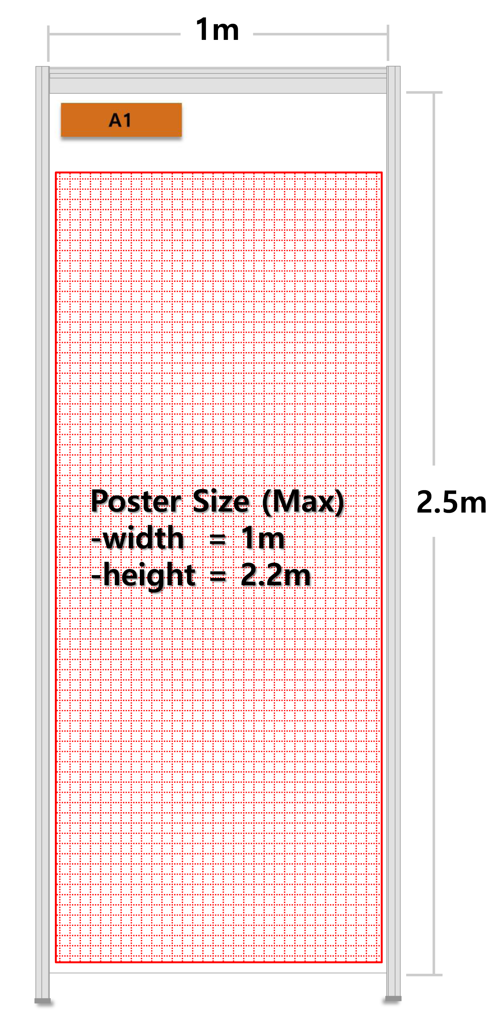 Guidelines for attaching a poster